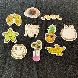 Set of 12 Vsco Stickers